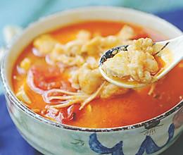 这是一碗好吃到升仙的酸汤龙利鱼的做法