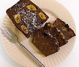 可可全麦蛋糕(无油无糖)的做法