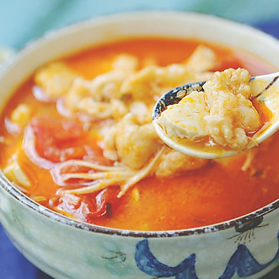 这是一碗好吃到升仙的酸汤龙利鱼