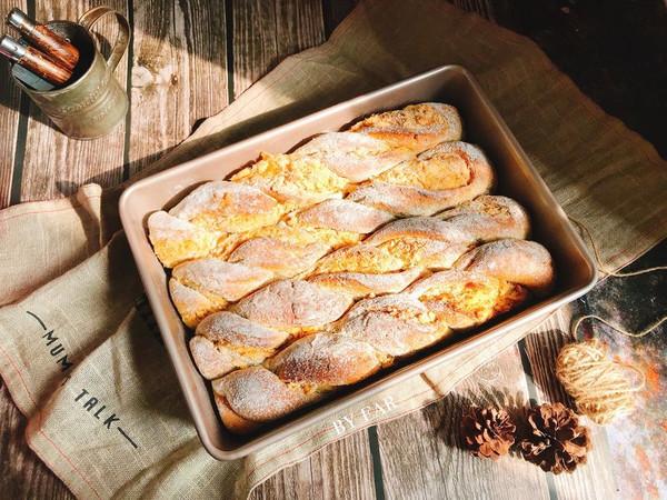 伯爵乳酪肉松全麦软欧(波兰酵头)营养早餐面包茶点