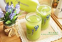 夏日清爽果蔬,黄瓜苹果汁的做法