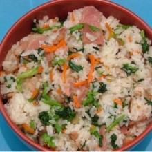 老上海的咸肉菜饭