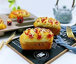 沙拉火腿早餐包#安佳黑科技易涂抹软黄油#的做法