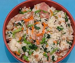 老上海的咸肉菜饭的做法