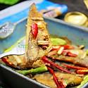 芦笋烤冰鱼