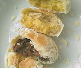 红豆绿豆饼---附红绿豆馅做法的做法