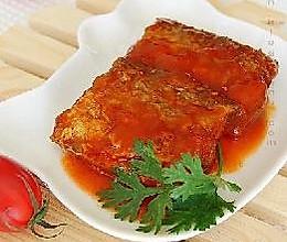 茄汁带鱼的做法