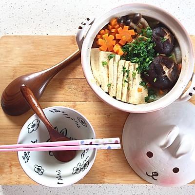「低卡减肥餐」全素日式小火锅