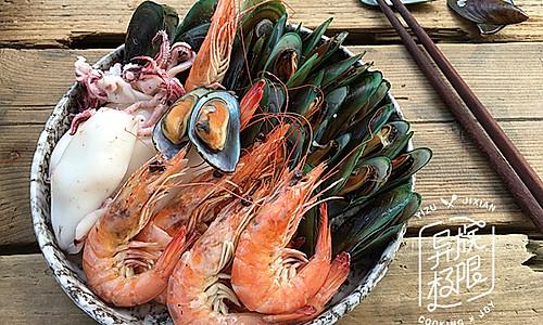 海鲜桑拿蒸的做法