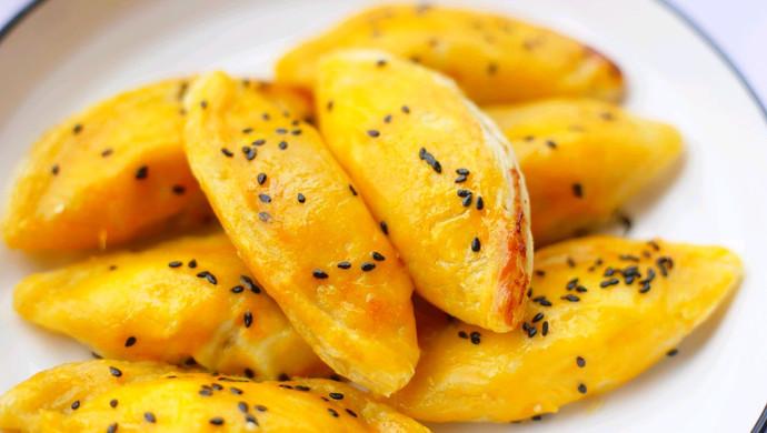 香甜酥脆的香蕉蛋挞酥