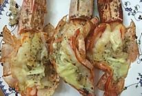 黄油蒜蓉烤大虾的做法