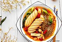 #《风味人间》美食复刻大挑战#飞鱼籽肠麻辣粉的做法