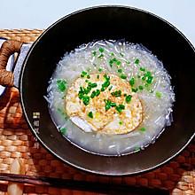 #下饭红烧菜#萝卜丝煮煎鸡蛋