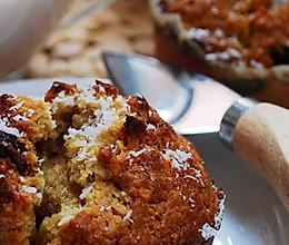 椰蓉葡萄小蛋糕的做法