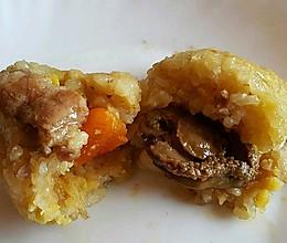 港式五香咸肉粽的做法