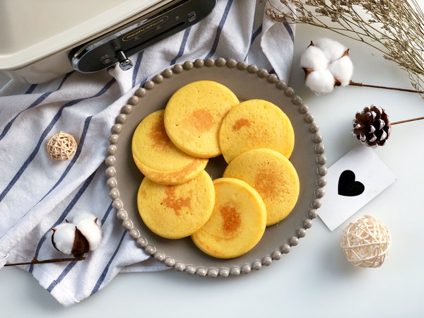 奶香鸡蛋米饼的做法