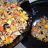 #苏泊尔球釜智能电饭煲#香菇土豆肉丁焖饭的做法图解9