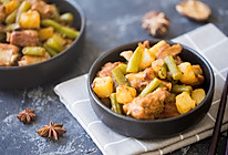 土豆排骨炖豆角的做法