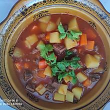 牛肉炖土豆(西红柿版)