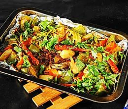 香烤黄花鱼#快手又营养,我家的冬日必备菜品#的做法