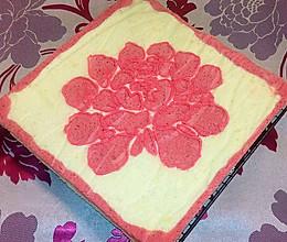 牡丹蛋糕片#松下烘焙魔法世界#的做法