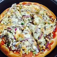 披萨(黑椒牛肉披萨)