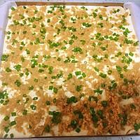 #带着美食去踏青#香葱肉松蛋糕卷的做法图解13