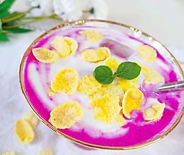 火龙果酸奶杯的做法