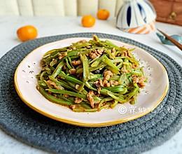 #今天吃什么#爆炒豆豉芸豆肉丝的做法