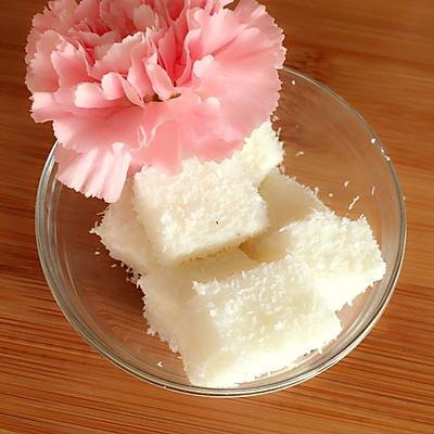 椰蓉小方奶冻
