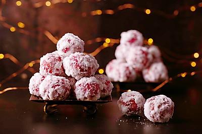 圣诞应景童年小食【❄️糖雪球】