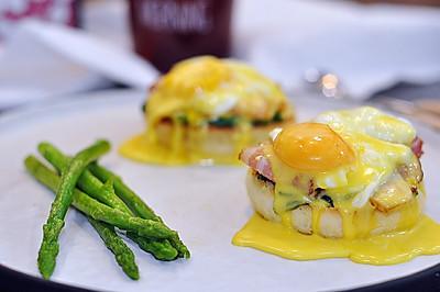 班尼迪克蛋——附原味麦芬的做法