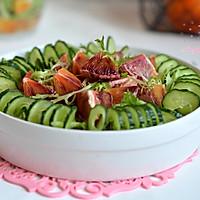 多彩蔬果大拌菜的做法图解10
