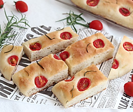 #全电厨王料理挑战赛热力开战!# 佛卡夏,意大利经典面包的做法