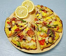 小熊熊创意料理之平底锅披萨(零失败免烤箱)的做法