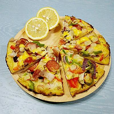 平底锅简易披萨(不用烤箱哦)