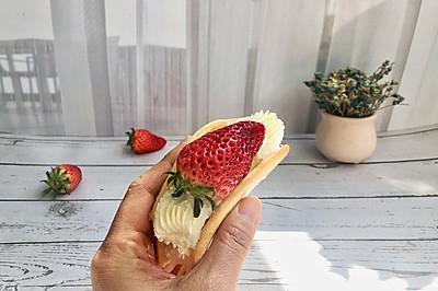 #百变水果花样吃#草莓欧蕾