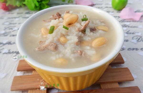 黄豆瘦肉粥——冬季暖身