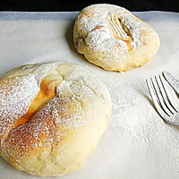 奶香芋头软欧包#发现粗粮之美#的做法图解9