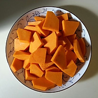 最好吃的甜汤【奶油南瓜汤】的做法图解1