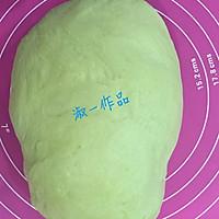 菠菜红枣养生小馒头的做法图解2