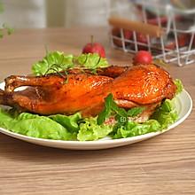 脆皮烤鸭#肉食者联盟#