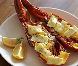简版芝士焗龙虾的做法