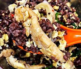 瘦身食谱   糙米拌饭的做法