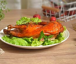 脆皮烤鸭#肉食者联盟#的做法