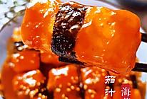 #新春美味菜肴#海苔茄汁脆皮豆腐的做法