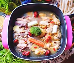 客家猪肚鸡火锅#利仁火锅节#的做法