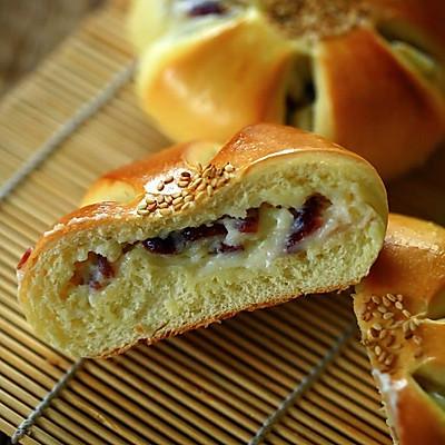 【蔓越莓乳酪面包】-COUSS E5(CO-5201)出品