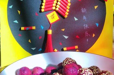 超简单又好吃的香甜紫薯丸子