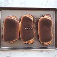 巧克力开心果面包的做法图解16
